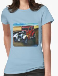 *•.¸♥♥¸.•*Gotta Luv Those Hot Rods Tee Shirt*•.¸♥♥¸.•* Womens Fitted T-Shirt