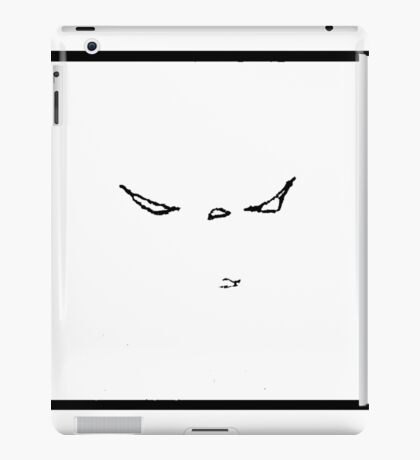 No Resistance White iPad Case/Skin