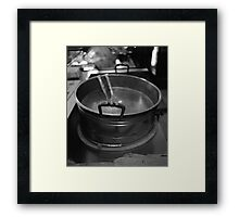 Pot Framed Print