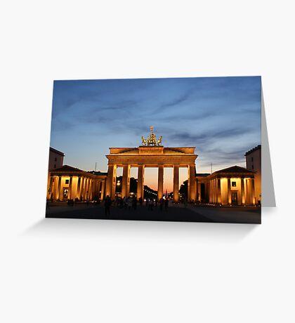 Brandenburg Gate Greeting Card