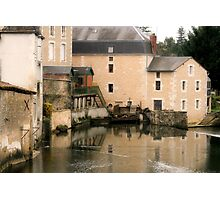 Mill on the Charente Photographic Print