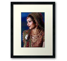 The Elegant Bride Framed Print