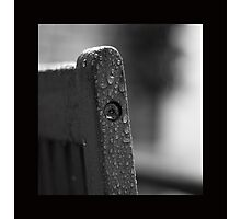 Still Wet Outside.... Photographic Print