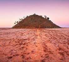 Lake Ballard Island by Peter Hodgson