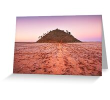 Lake Ballard Island Greeting Card