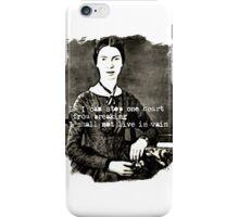Emily Dickinson iPhone Case/Skin