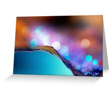 ~A Touch Of Bokeh~ Greeting Card