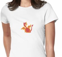 Cute Little Dragon, Cute Ugly T-Shirt or Sticker Womens Fitted T-Shirt