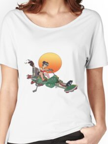 Cat Mobile Women's Relaxed Fit T-Shirt