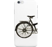 Bicycle (Black Edition) iPhone Case/Skin