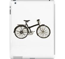 Bicycle (Black Edition) iPad Case/Skin