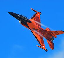 Flying Orange by Xandru