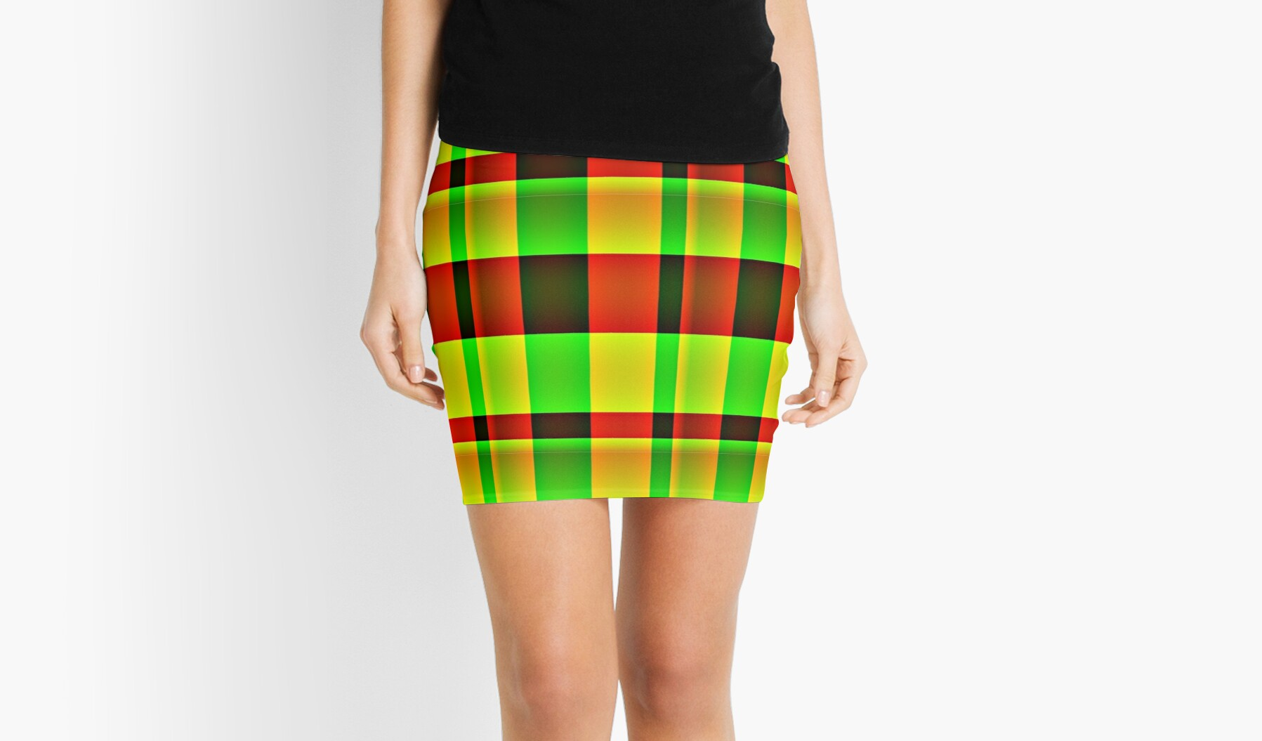 IT'S TARTAN ...  PENCIL SKIRTS, SCARVES AND LEGGINGS by Colleen2012