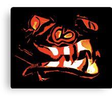 Snake Tonged Jack Variation I Canvas Print