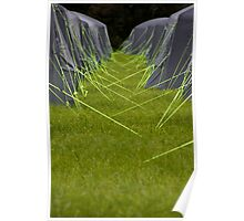 Tent strings Poster