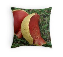 Color and Textures Throw Pillow