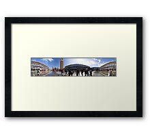 St Marks, 360 pano Framed Print