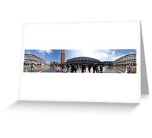 St Marks, 360 pano Greeting Card