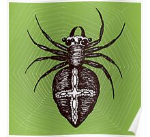 Giant brown spider Poster