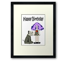 Crystal Tipps and Alistair 'Birthday' Framed Print