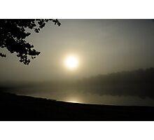 Foggy Morn Photographic Print