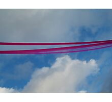 notting hill ribbon Photographic Print