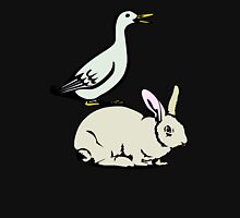 RABBIT BUNNY AND DUCK  Unisex T-Shirt