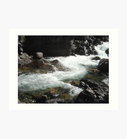 The River M Art Print