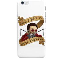 matt says keep going iPhone Case/Skin