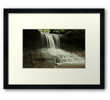 the Cascades of Glen Helen Framed Print