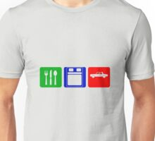 EAT SLEEP DRIVE Unisex T-Shirt