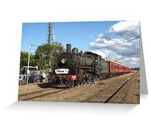Q150 Steam Train Greeting Card