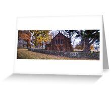 All Saints Church - Gostwyck NSW - The HDR Experience Greeting Card