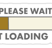 FART LOADING  Sticker