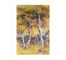 Autumn Gold Art Print