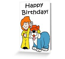 Jamie and his Magic Torch Birthday Greeting Card