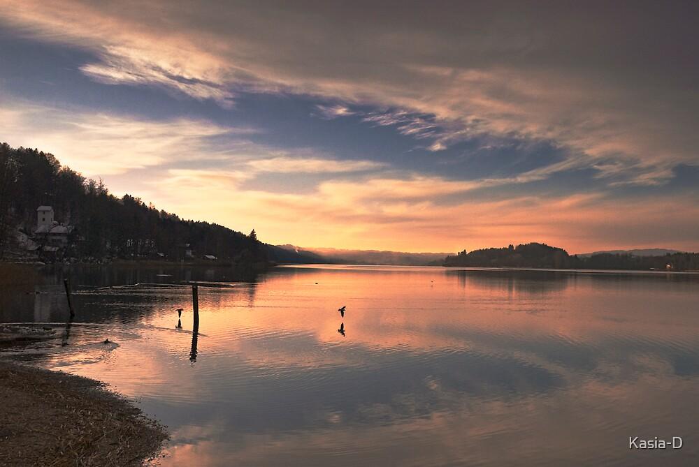 Last Light On Lake Staffel by Kasia-D