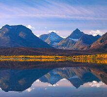 Saint Mary Lake, Glacier National Park. Montana. USA. by photosecosse /barbara jones