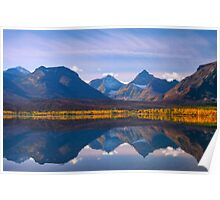 Saint Mary Lake, Glacier National Park. Montana. USA. Poster