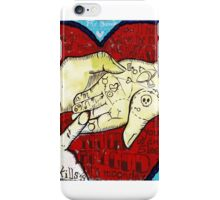 If I could read your mind.... iPhone Case/Skin