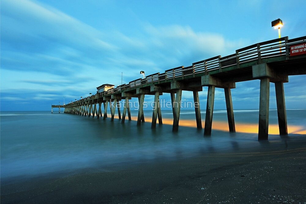Venice pier 2 by kathy s gillentine