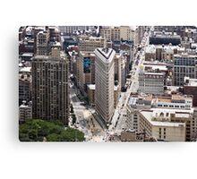 Flatiron Building, Manhattan, New York, USA Canvas Print