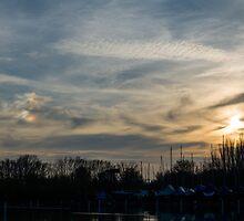 Strange Sunset by Inimma