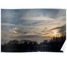 Strange Sunset Poster