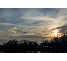Strange Sunset Photographic Print