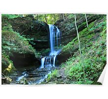Horseshoe Falls - Munsing, Michigan Poster