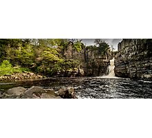 High Force Waterfall Panoramic Photographic Print