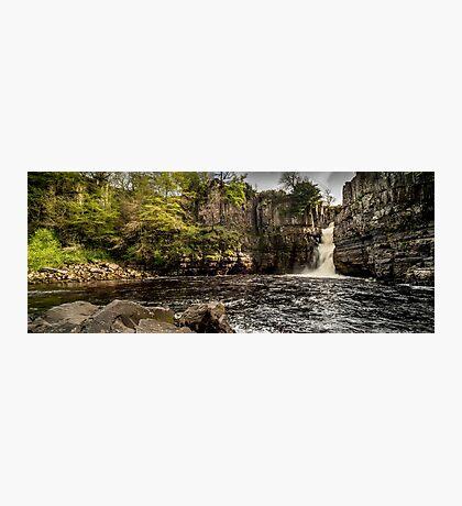 High Force Waterfall Panoramic Photographic Print