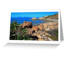 Horseshoe Bay Bowen Queensland Australia Greeting Card