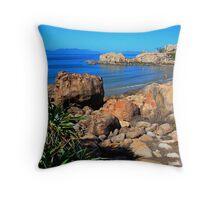 Horseshoe Bay Bowen Queensland Australia Throw Pillow